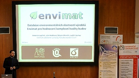 Envimat na Stavebních veletrzích Brno 2012